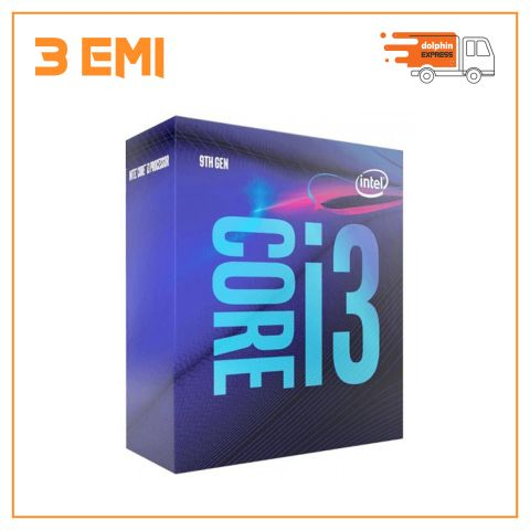 Intel 9th Gen Coffee Lake Core i3 9100 Processor