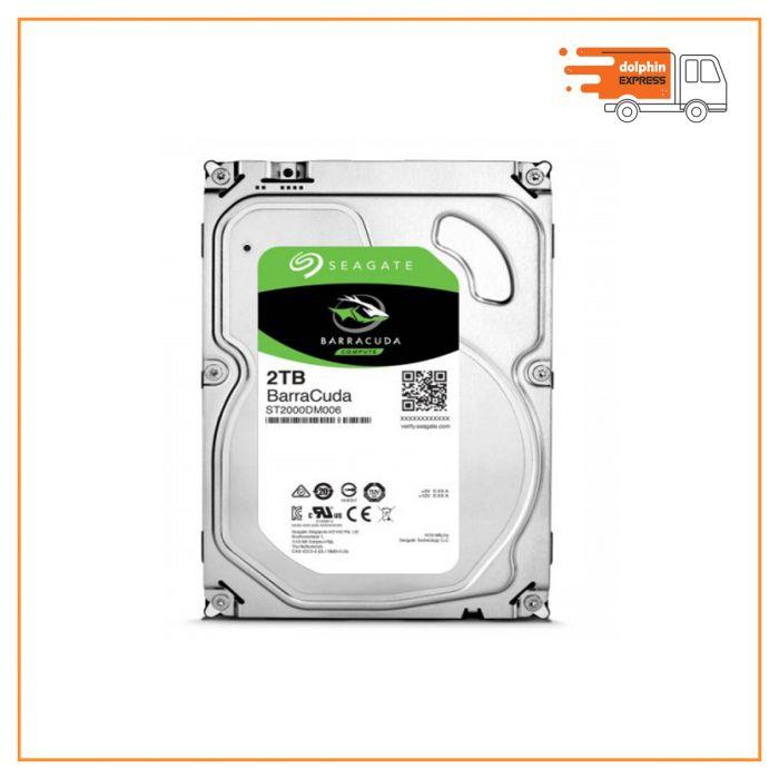 Seagate 2TB 3.5 Inch SATA Hard Disk Drive(HDD)