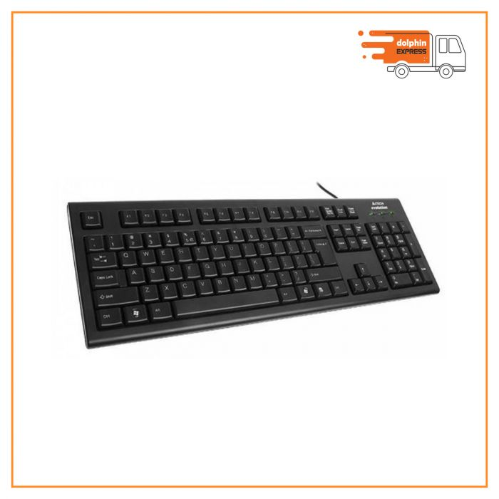 A4 Tech KR-83 Black USB Keyboard