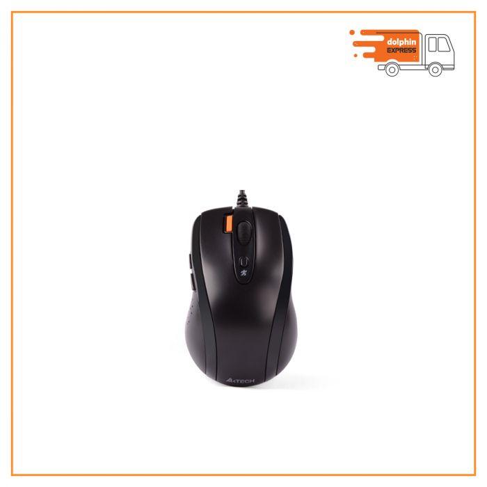 A4Tech N-70FX 7 Button Mouse Black