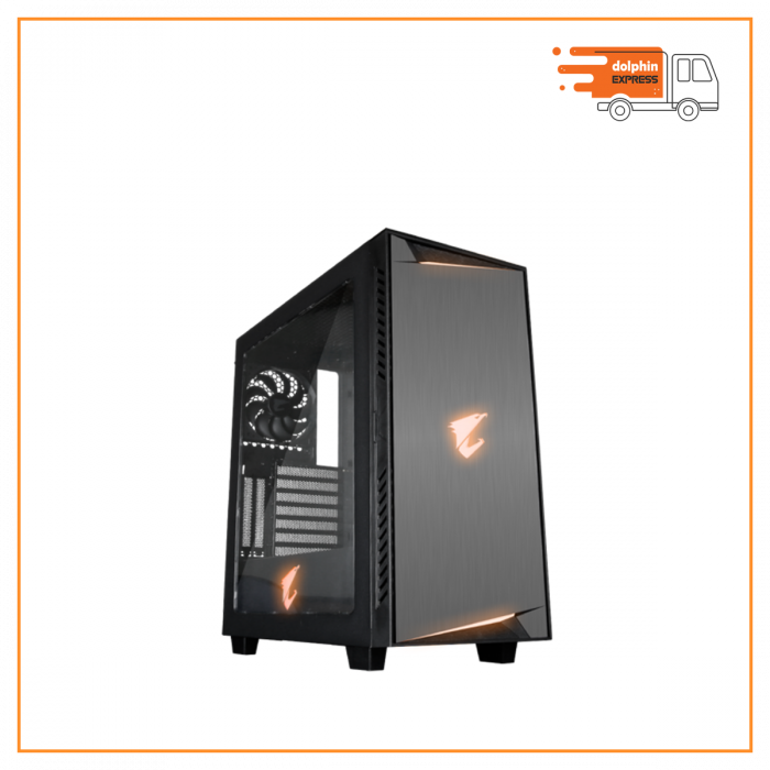 Gigabyte Aorus AC300W ATX Mid Tower RGB Gaming Desktop Case
