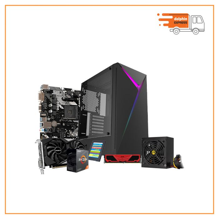 AMD RYZEN 5 3500X Desktop Gaming PC