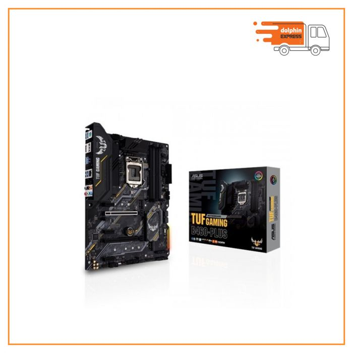 Asus TUF Gaming B460-Plus Intel 10th Gen Micro-ATX Motherboard