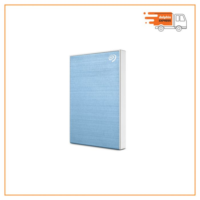 Seagate External Storage Backup Plus Slim 1tb Light Blue HDD