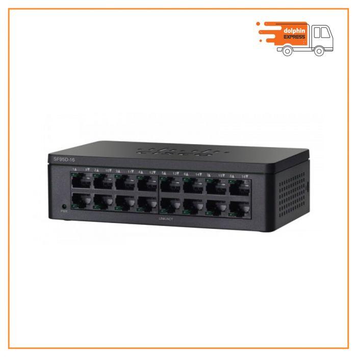 Cisco SF95D-16 16-Port 10/100 Desktop Switch