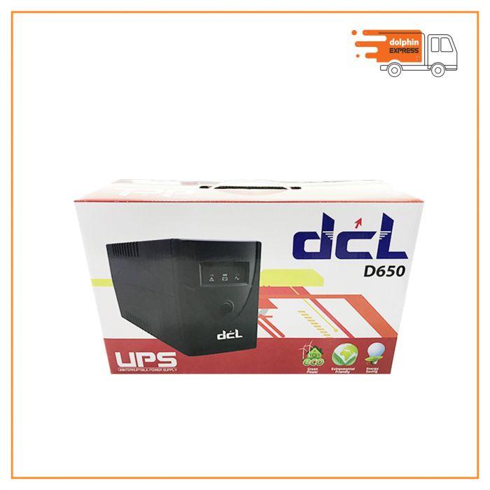DCL D650 UPS 650VA