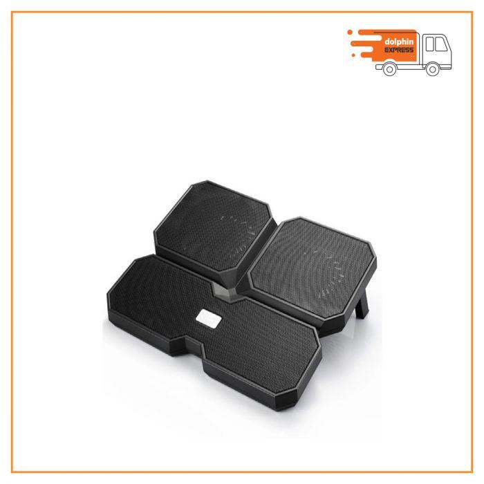 Deepcool Multi Core X6 Black 15.6 Inch Laptop Cooler