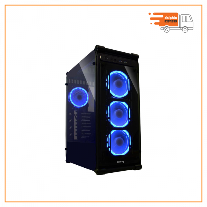 Value Top VT-G03-L Tempered Glass Full Tower ATX Casing