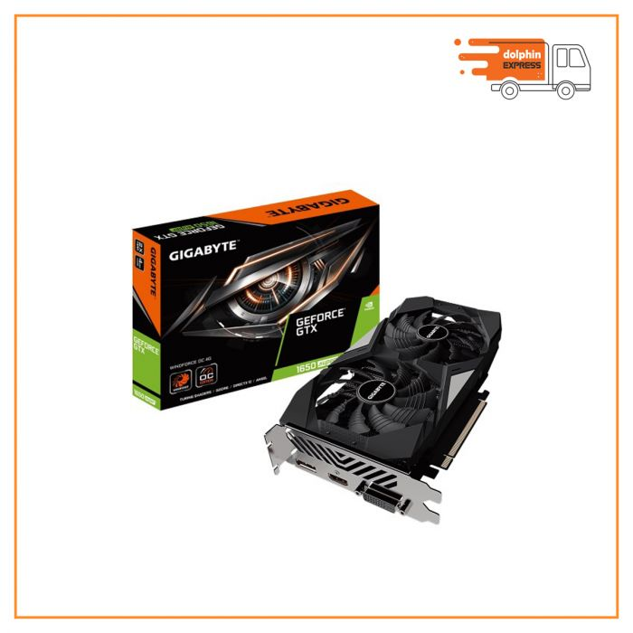 Gigabyte GeForce GTX 1650 Super Windforce OC 4GB Graphics Card