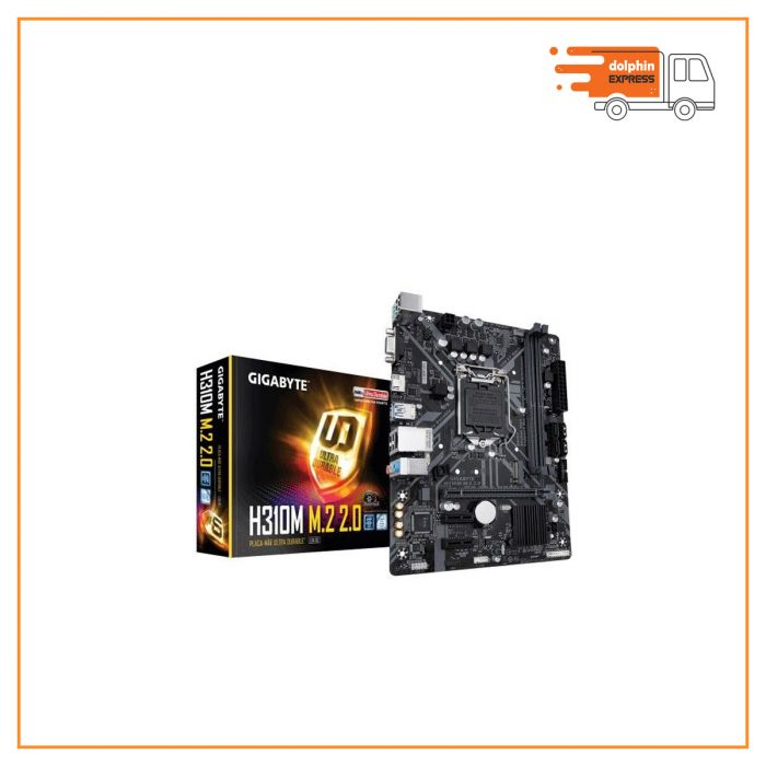 Gigabyte H310M M.2 9th Gen Micro ATX Motherboard