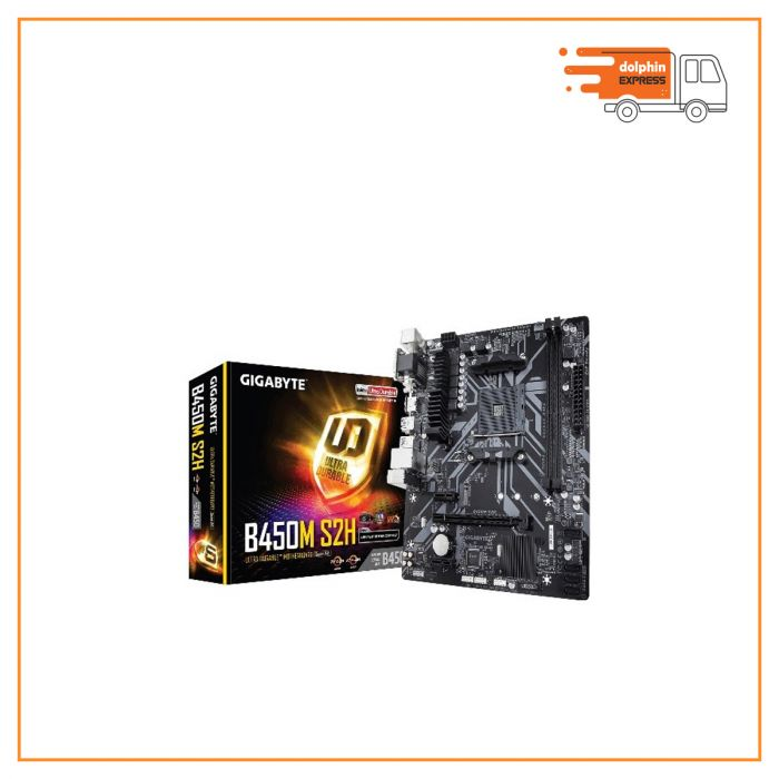 Gigabyte B450M S2H DDR4 AMD AM4 Socket Motherboard