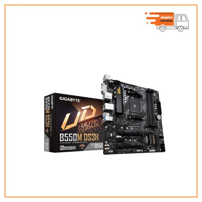 Gigabyte B550M DS3H AM4 AMD Micro ATX Motherboard