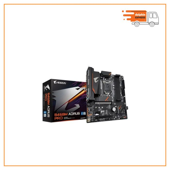 Gigabyte B460M Aorus Pro 10th Gen Micro ATX Motherboard
