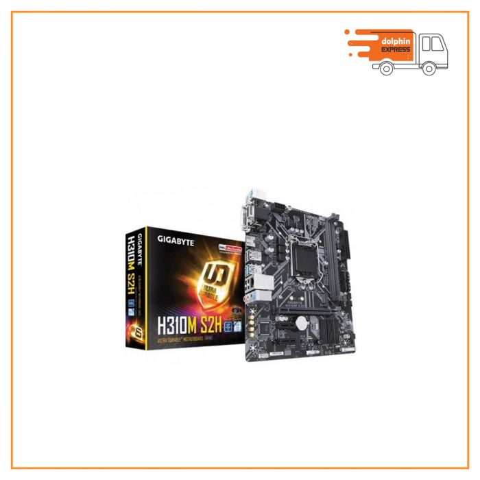 Gigabyte H310M S2H 9th Gen Micro ATX Motherboard