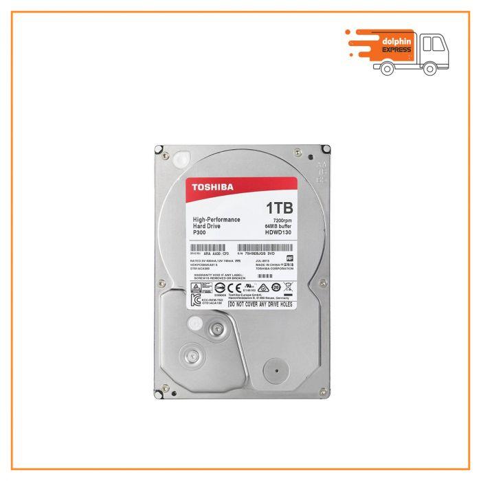 Toshiba 1 TB 7200 RPM Desktop Hard Disk