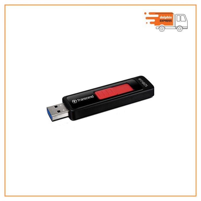 Transcend JetFlash 760 128GB USB 3.1 Black Pen Drive