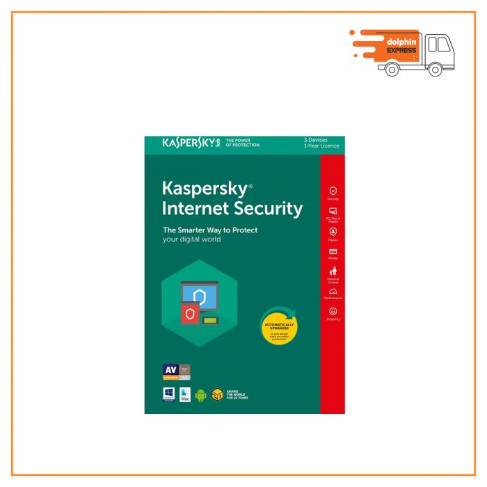 Kaspersky Internet Security 3User 1 year