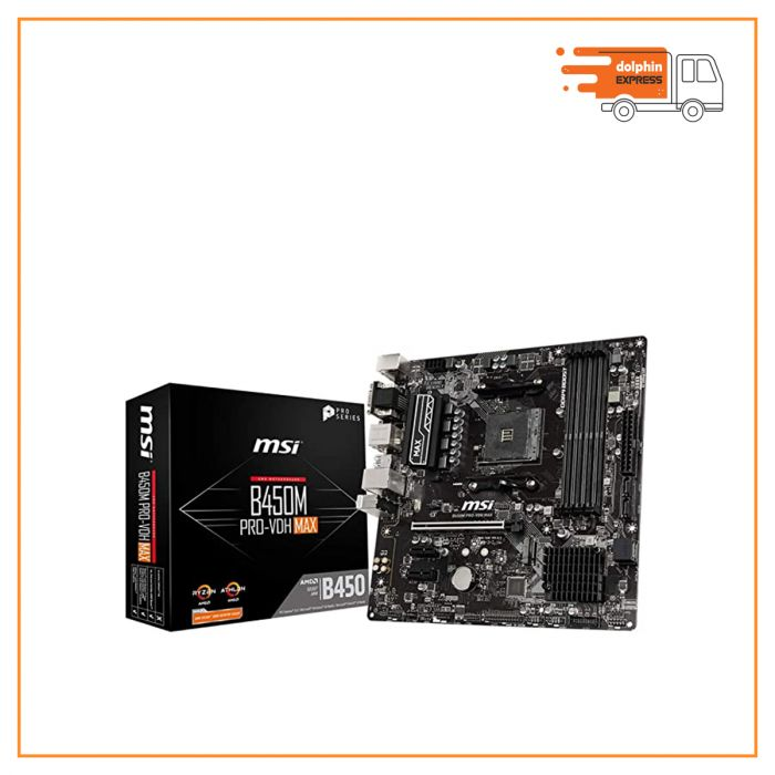 MSI MOTHER BOARD B450M-PRO VDH MAX