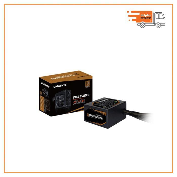 GIGABYTE P650B 650W 80 Plus Bronze Certified Power Supply