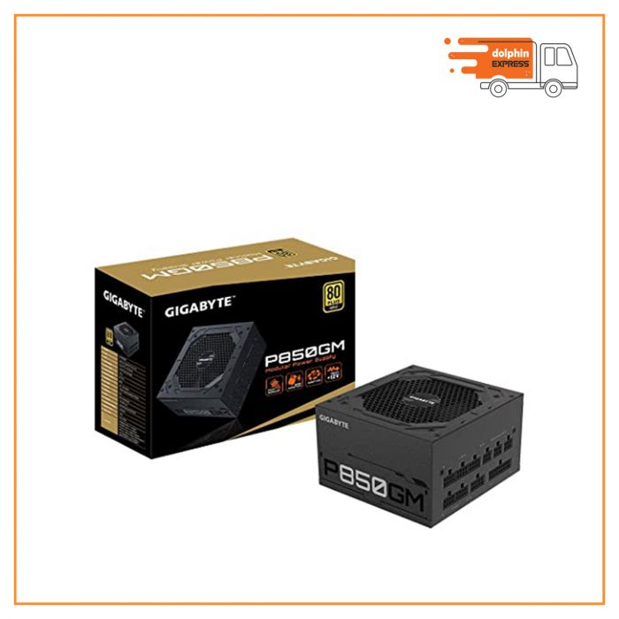 GIGABYTE GP-P850GM 850 Watt 80 Plus Gold Certified Power Supply