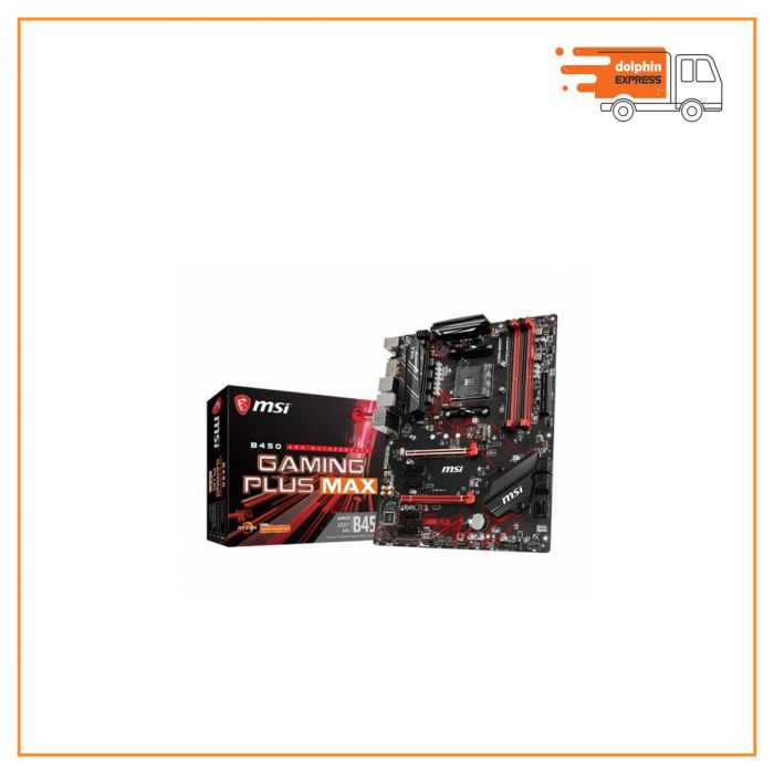 MSI B450 Gaming Plus MAX DDR4 AMD AM4 Socket Mainboard