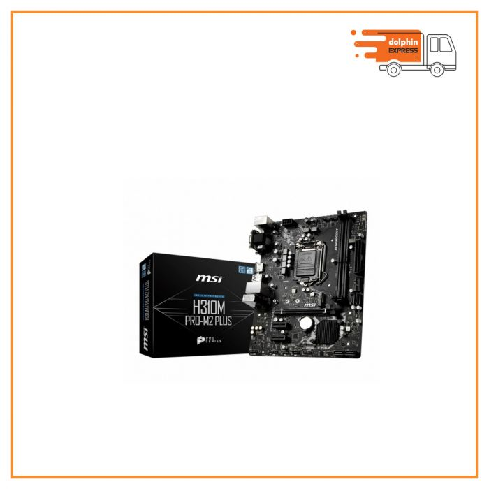 MSI H310M Pro-M2 Plus Intel 9th Gen Motherboard