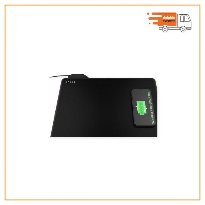 Gamdias NYX P2 Wireless Charging RGB Mouse Mat