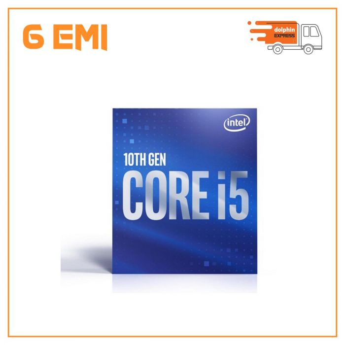 10th Generation Intel Core i5-10400 Processor