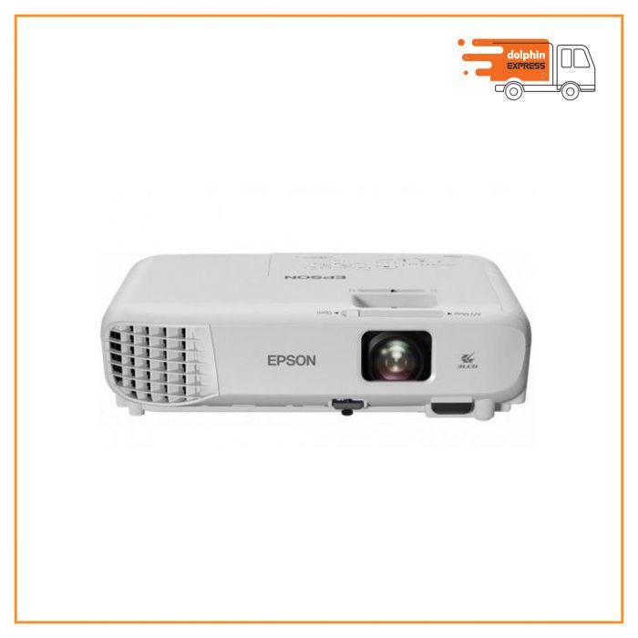 Epson EB-W05 3300 Lumens WXGA 3LCD Multimedia Projector
