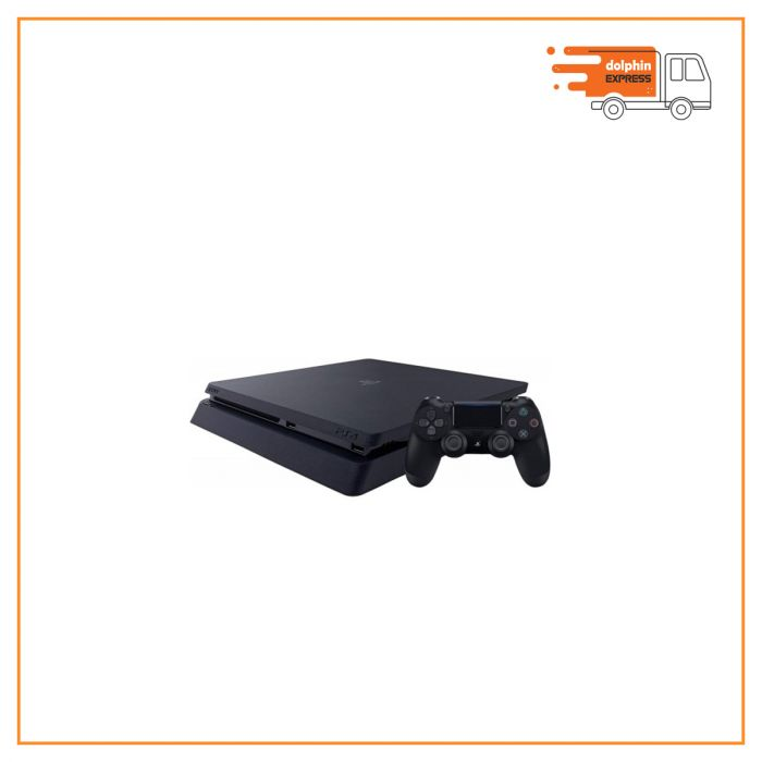 Sony PS4 Slim Jet Black Gaming Console