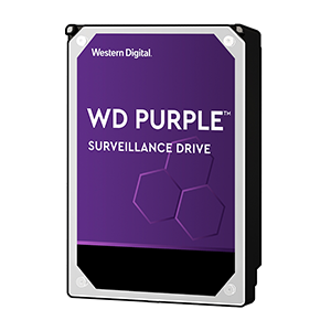 Western Digital Purple 4TB 3.5 Inch SATA 5400RPM Surveillance HDD