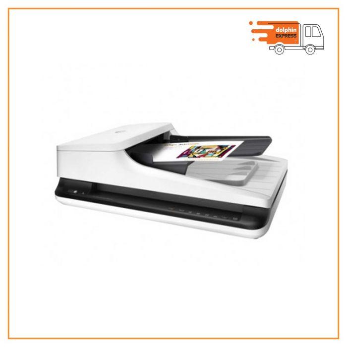 HP ScanJet Pro 2500F1 Flatbed and Sheet Fed Scanner