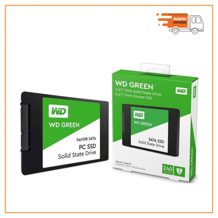 Western Digital Green 240GB 2.5 Inch SATAIII SSD