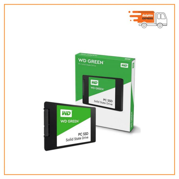 Western Digital Green 480GB 2.5in SATAIII SSD