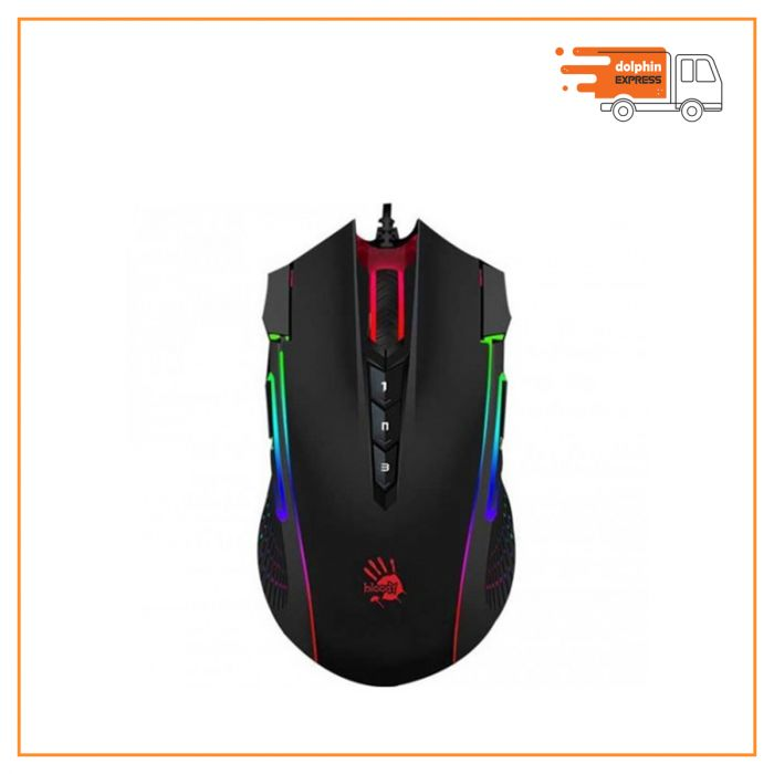 A4Tech Bloody J90 2-FIRE RGB Animation Gaming Mouse