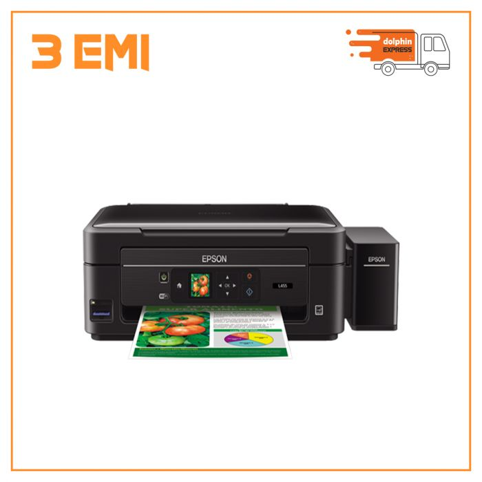 Epson L455 All-in-One Uni-Directional Wi-Fi Inkjet Printer