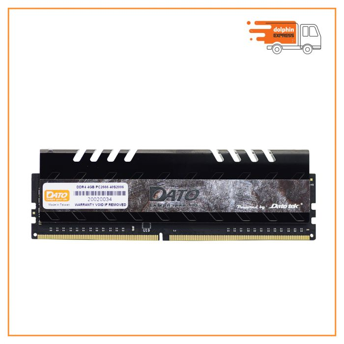 DATO 4GB DDR4 2666MHz Lo-dimm for Desktop with heatsink