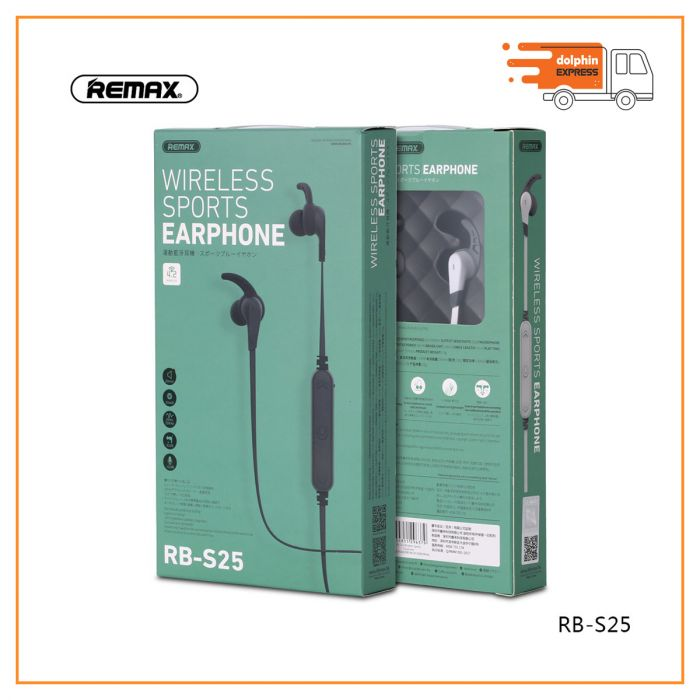 REMAX RB-S25 NECKBAND WIRELESS SPORTS BLUETOOTH EARPHONE
