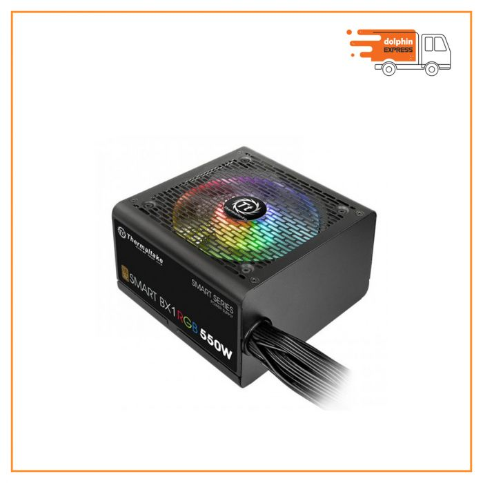 Thermaltake Smart BX1 RGB 550W Non Modular 80 Plus Bronze Certified Power Supply