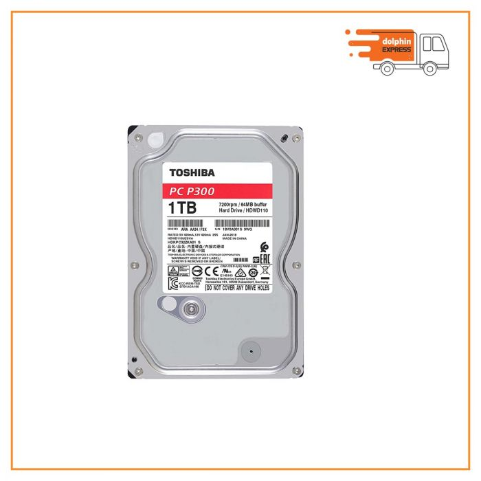Toshiba P300 1TB Internal Hard Disk Drive
