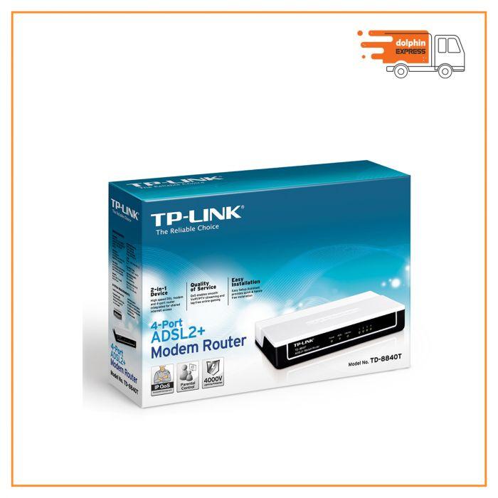 TP-Link TD-8840T ADSL2+ Modem Router