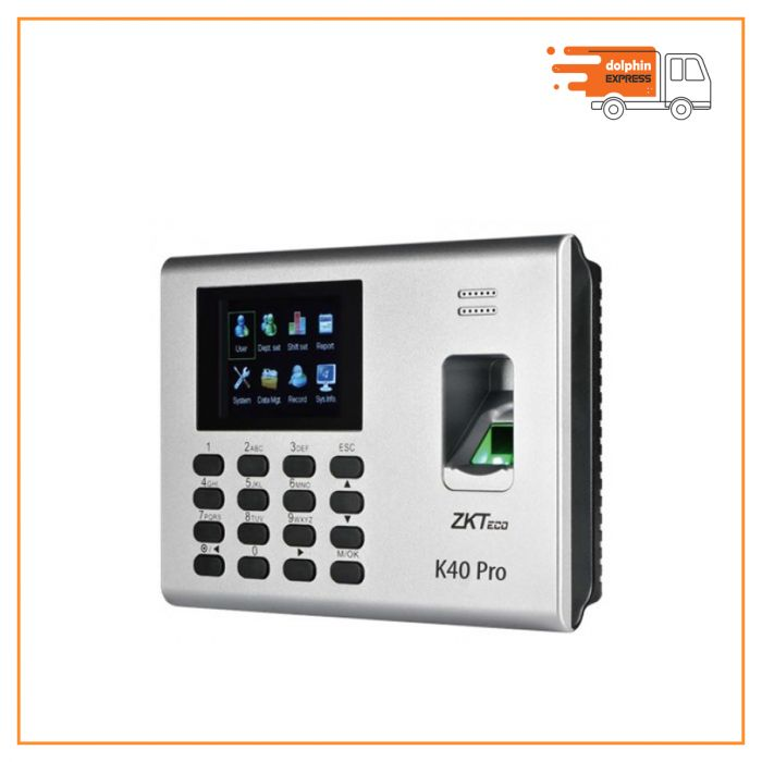 ZKTeco K40 Fingerprint Time Attendance and Access Control